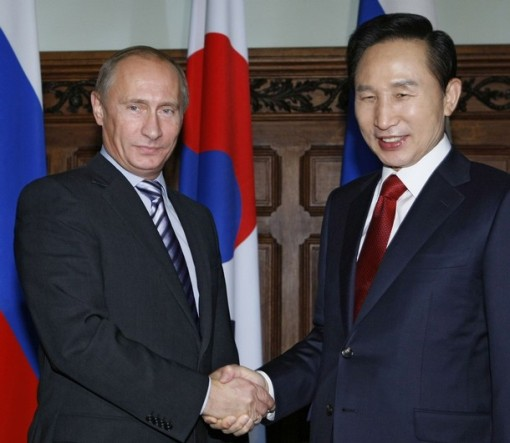 RUSSIA-KOREA/GAS