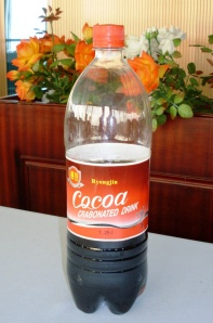 Cocoa crabonated drink