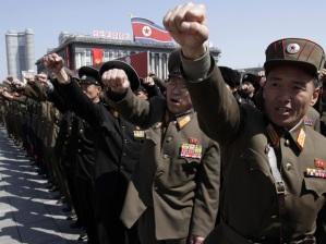 APTOPIX North Korea Rally