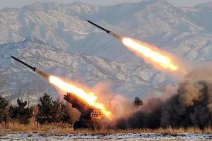 NK missile launch drills