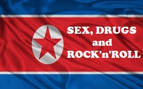 DPRK flag_Sex,Drugs and Rock'n'Roll