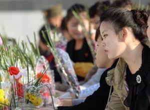 North Koreans on 10.10.2014